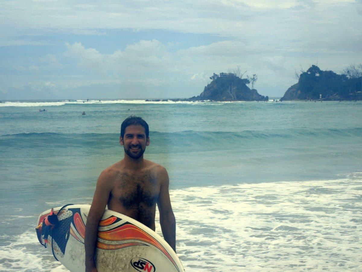 surf Byron Bay Australia