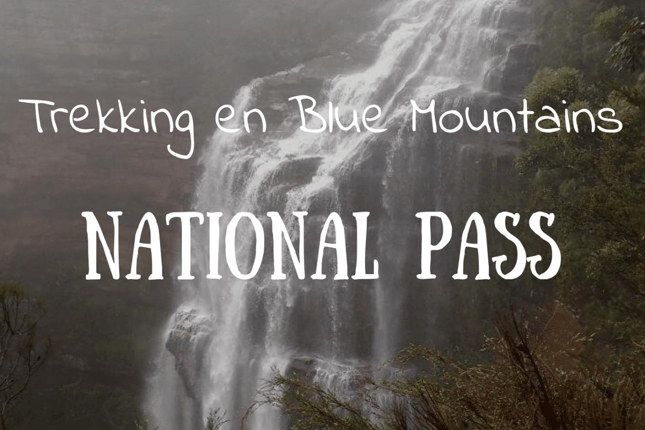 Trekking Blue Mountains National Pass