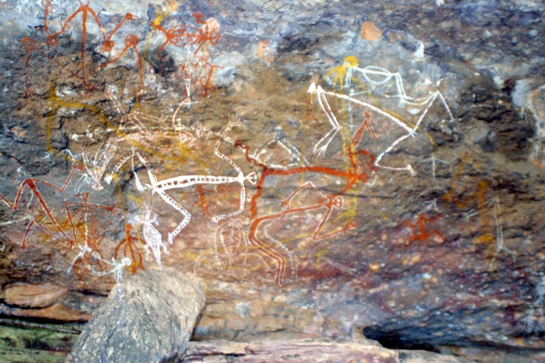 Pintura Aborigen Urulu Ayers Rock Australia Viajar a Uluru