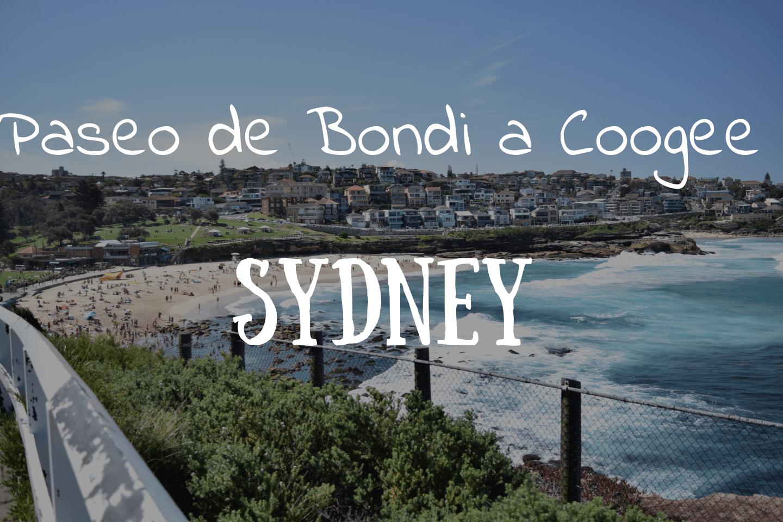Paseo de Bondi a Coogee Sydney Australia