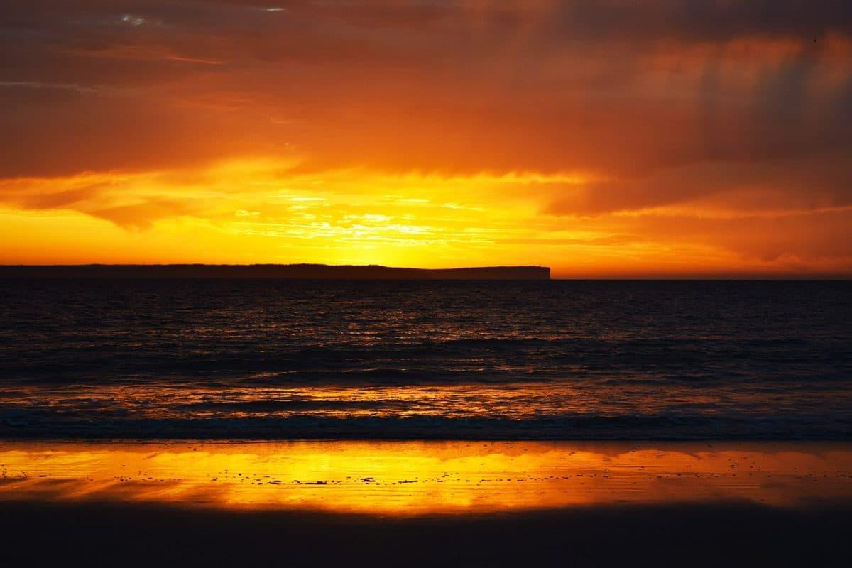 Amanecer en Jervis Bay, NSW, Viajar a Australia