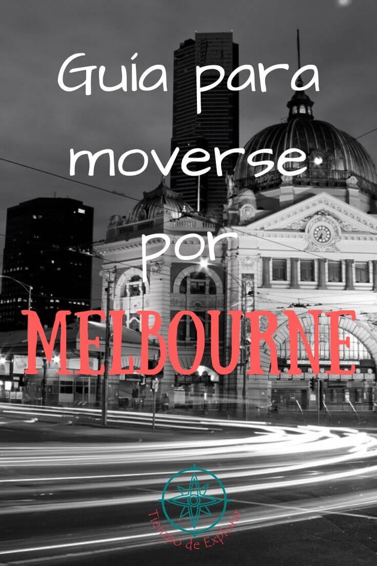 Guía para moverse por Melbourne Pinterest