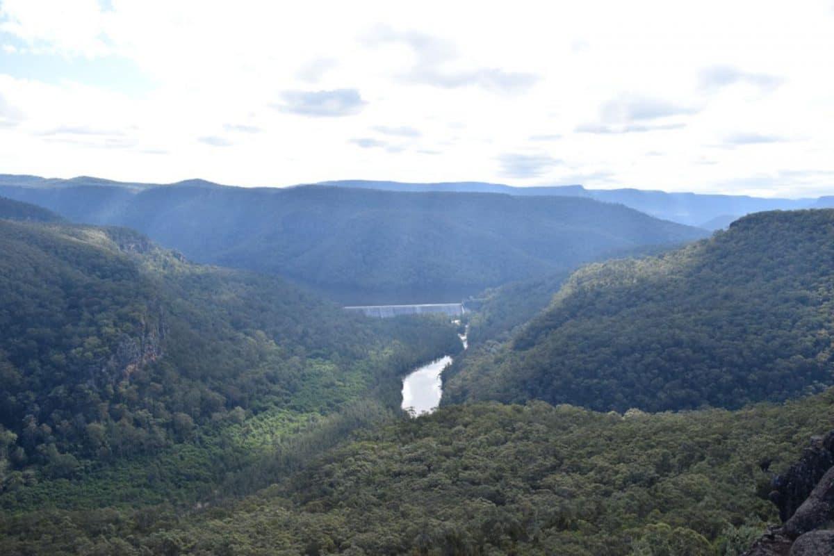 Vista de Kangaroo Valley, NSW, Viajar a Australia