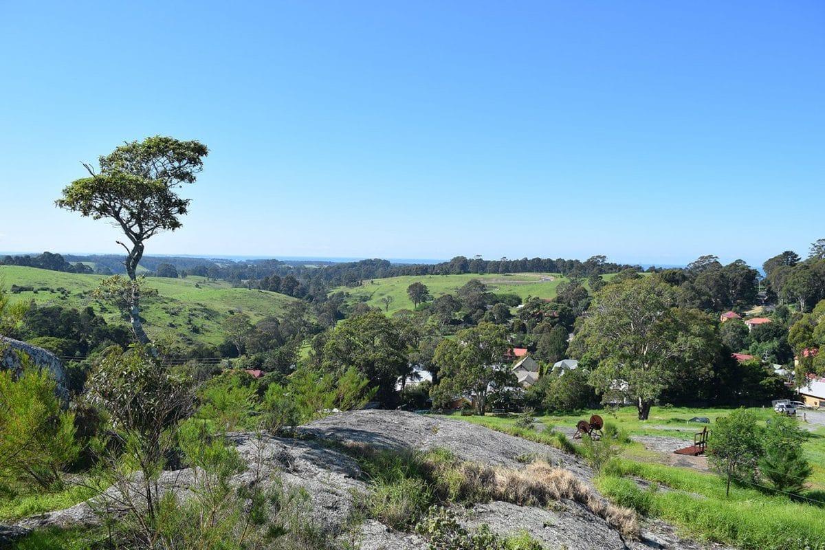 Vistas desde el mirador de Central Tilba, sur de NSW, Australia @tiempodexplorar