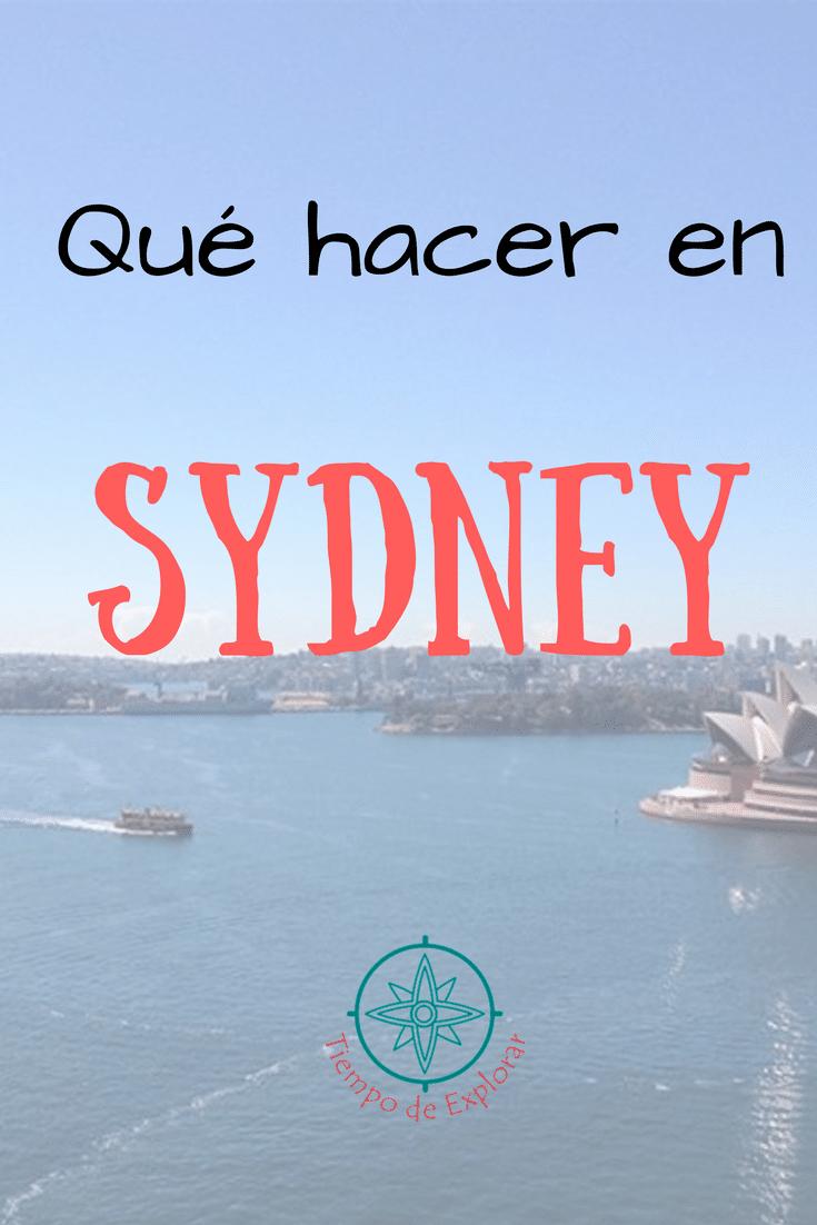 Pinterest. Qué hacer en Sydney