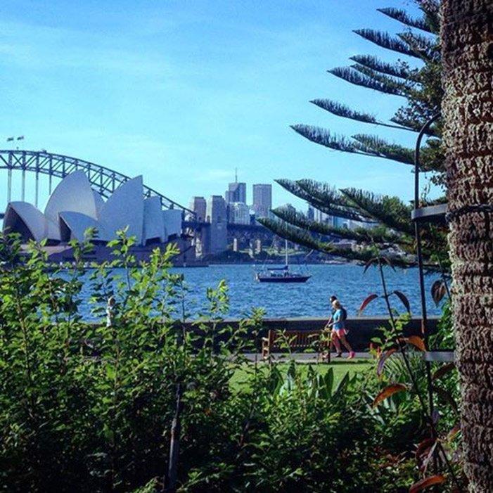 Royal Botanic Garden. Lugares para visitar en Sydney, Australia.