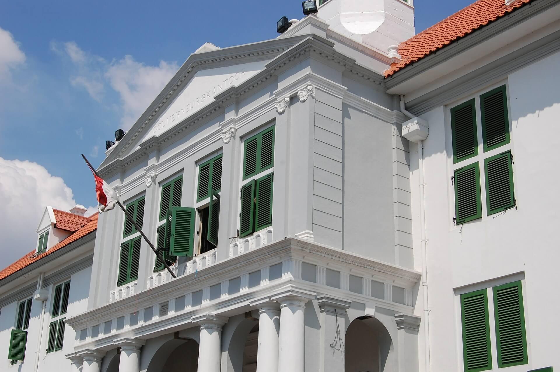 Edificio colonial Indonesia