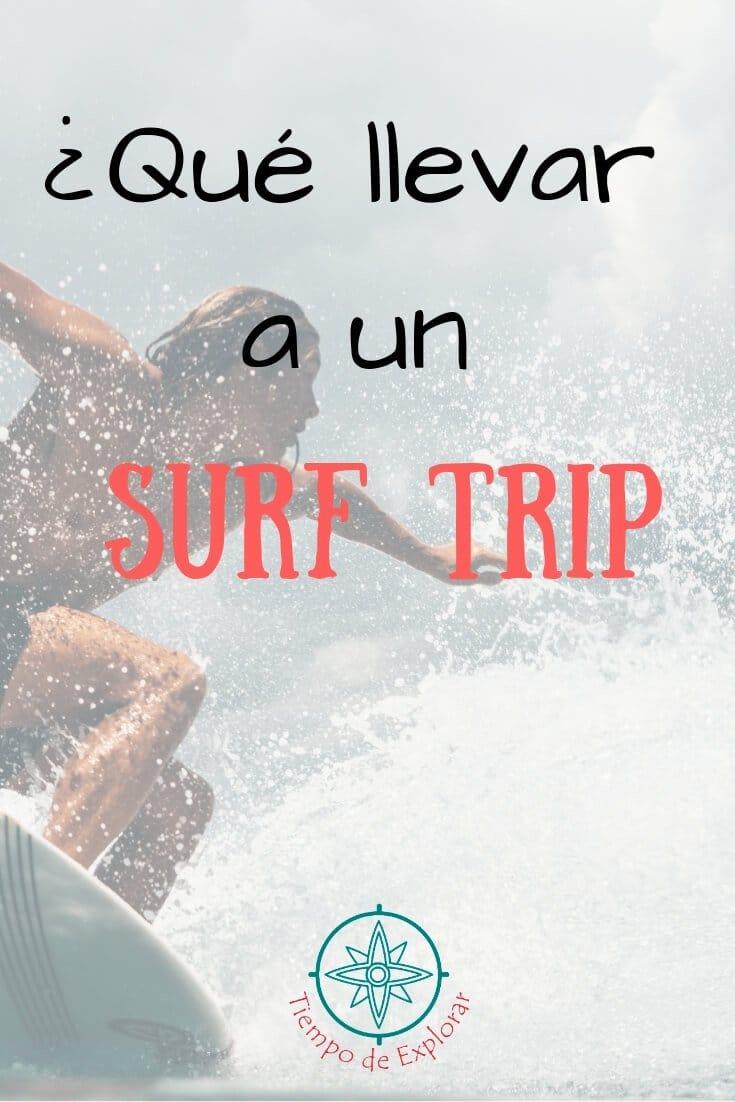 Equipamiento para surf Que llevar a un surftrip