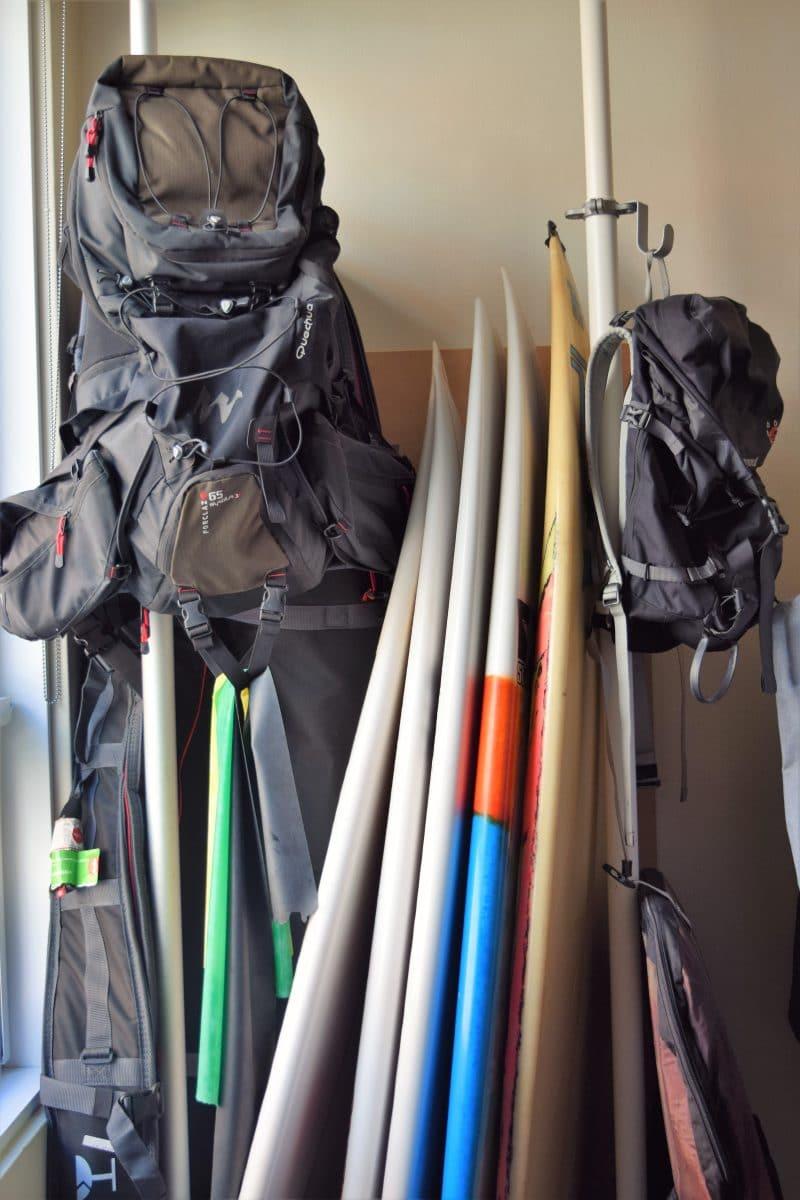 Equipamiento de surf