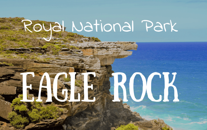 Eagle Rock Royal National Park