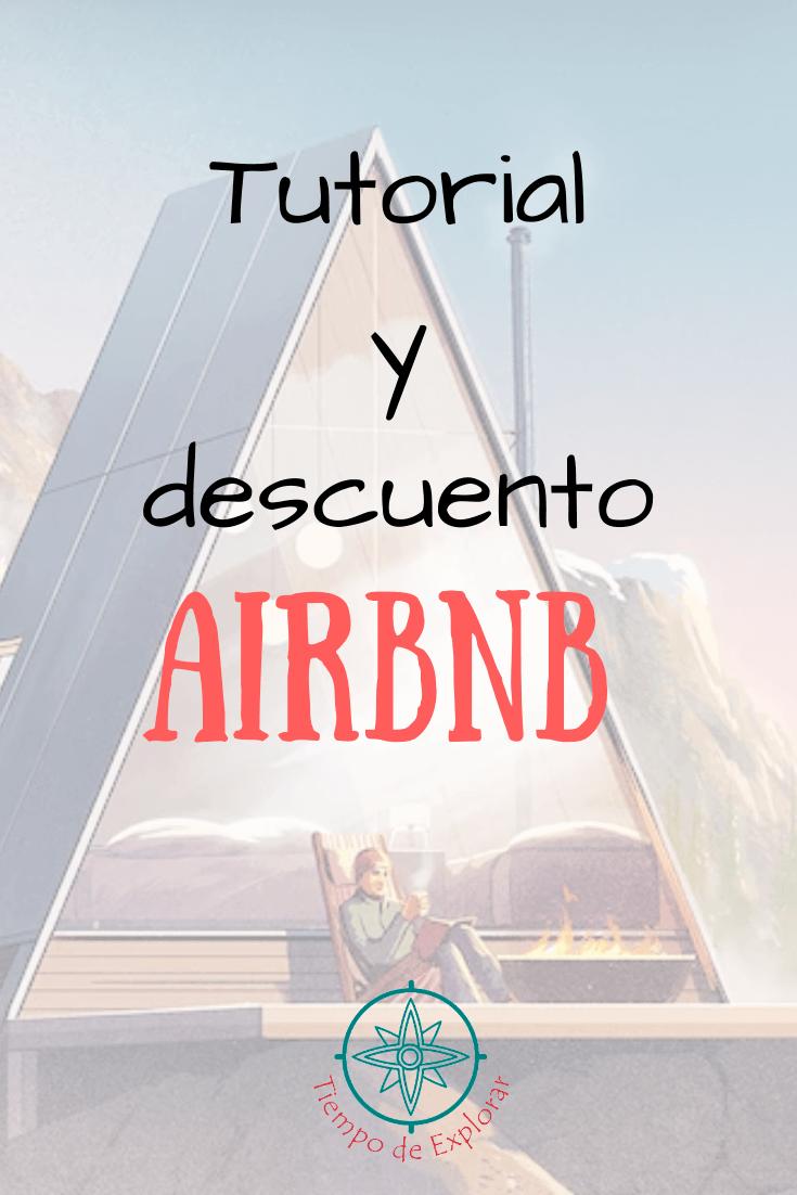 Tutorial y descuento Airbnb Pinterest