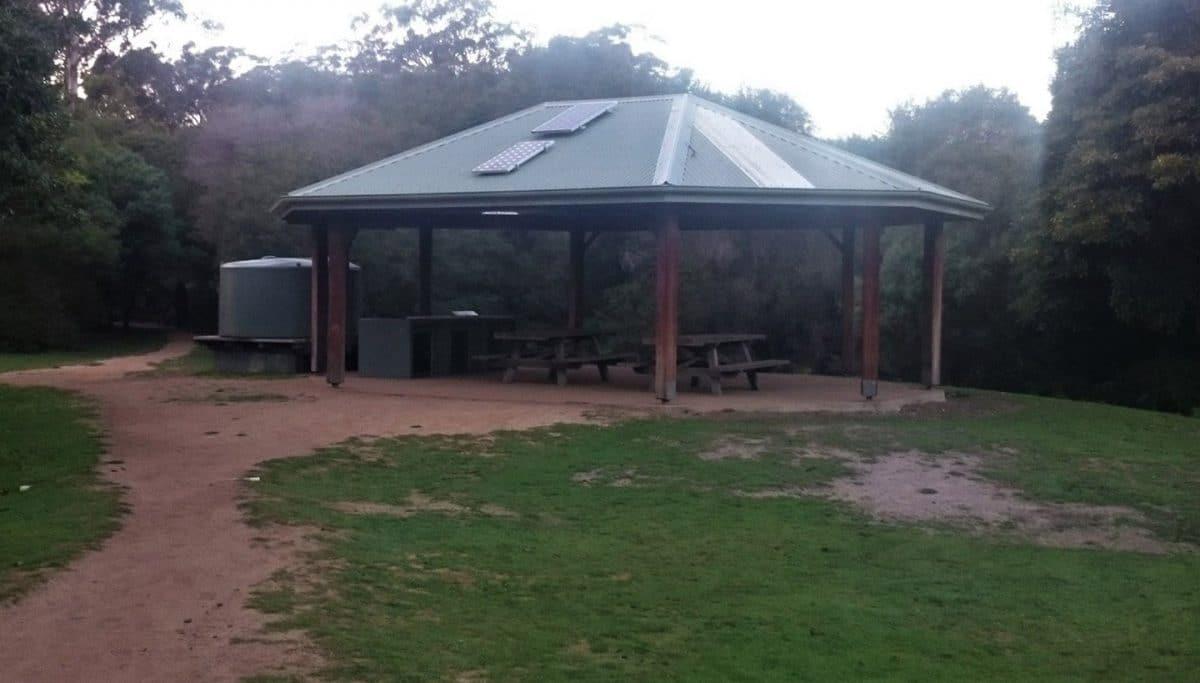 Camping de Hobart Beach, NSW, Australia @tiempodexplorar