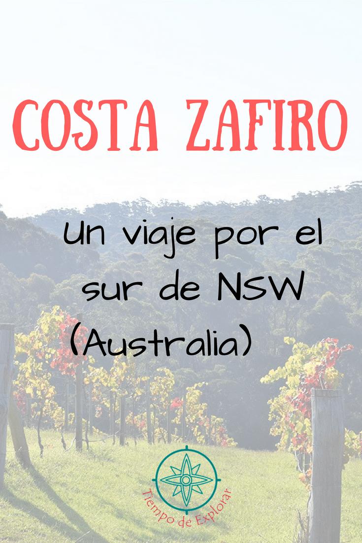 interest. Costa Zafiro. Un viaje por el sur de NSW