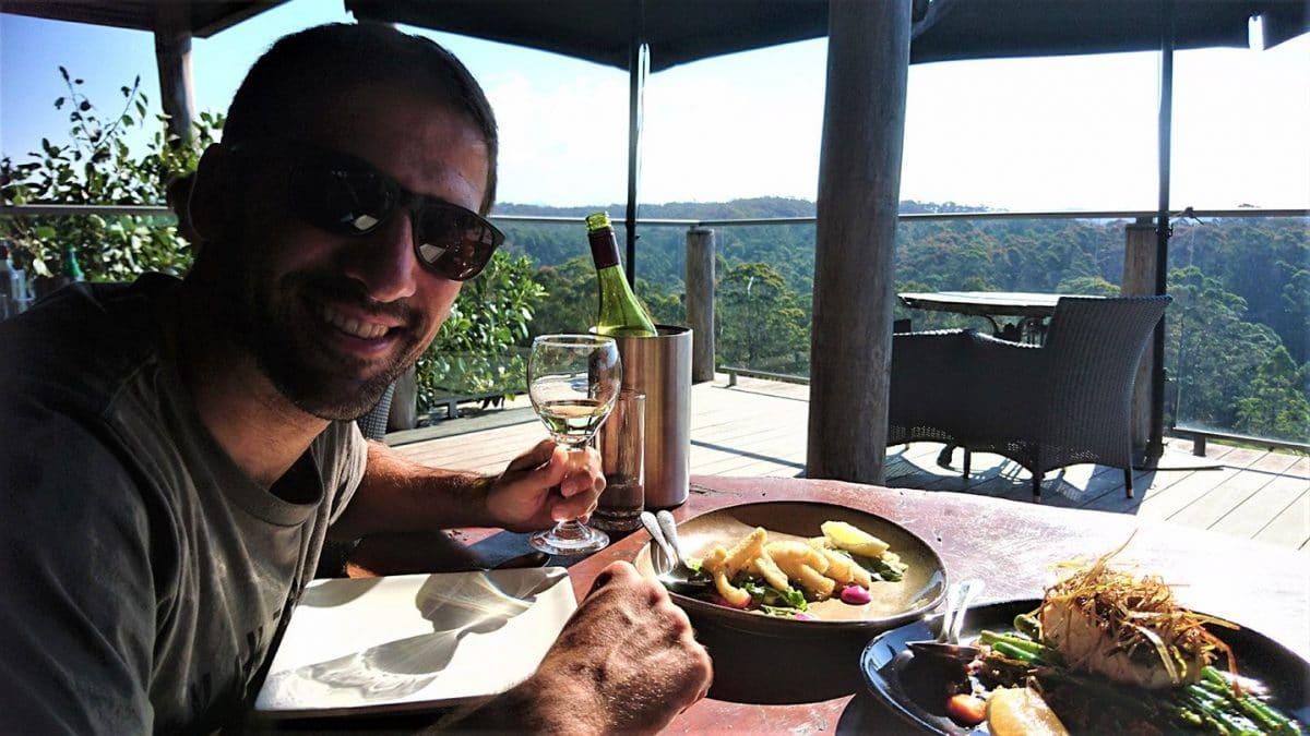 Restaurante Drystone, Bodegas Mimosa, Sapphire Coast, NSW Australia @tiempodexplorar