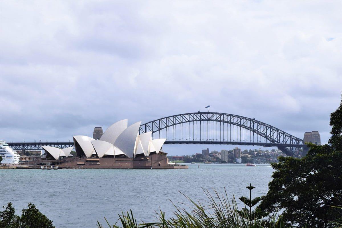 Harbour Bridge and Opera House, Sydney, Australia