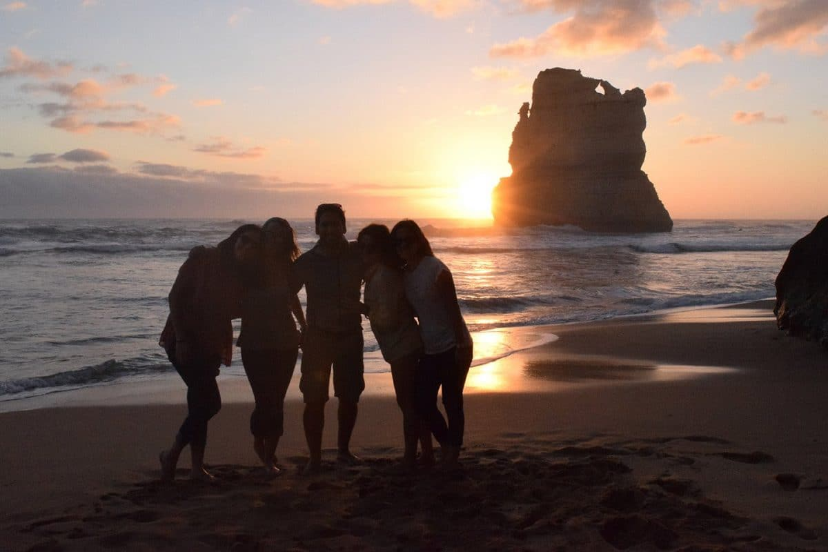 atardecer 12 apostoles great ocean road victoria australia