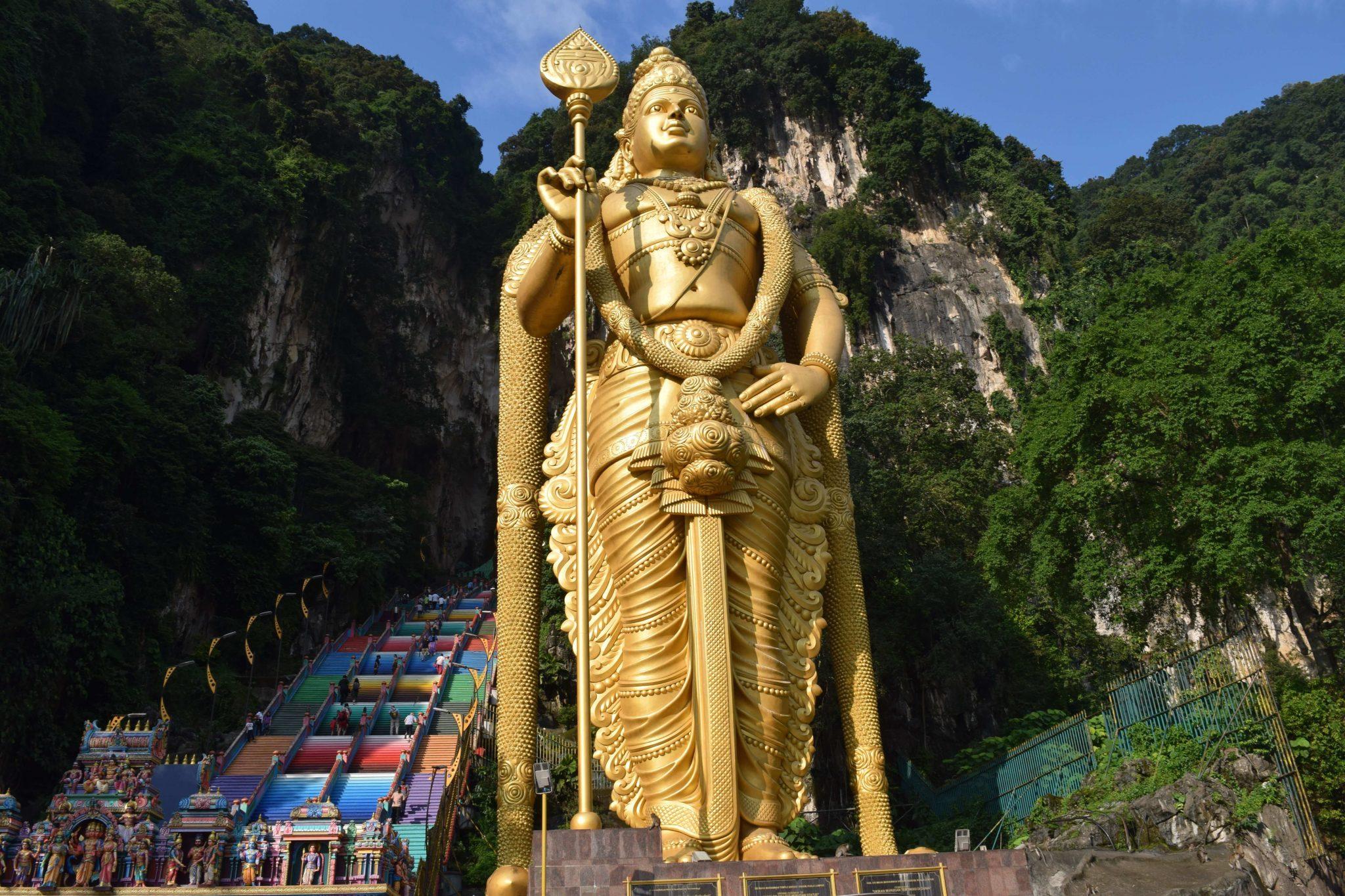 Que ver y que hacer en Kuala Lumpur Batu Caves