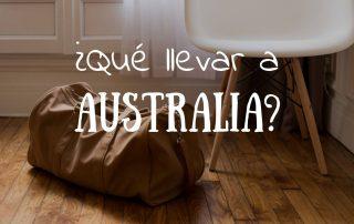 Que llevar a australia De turísta o como estudiante