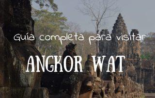 los templos de angkor wat en camboya