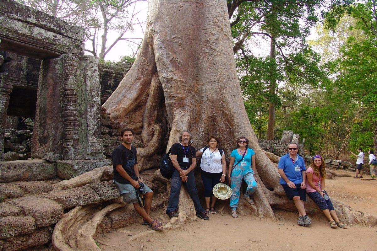 Vestimenta adecuada para Angkor Wat