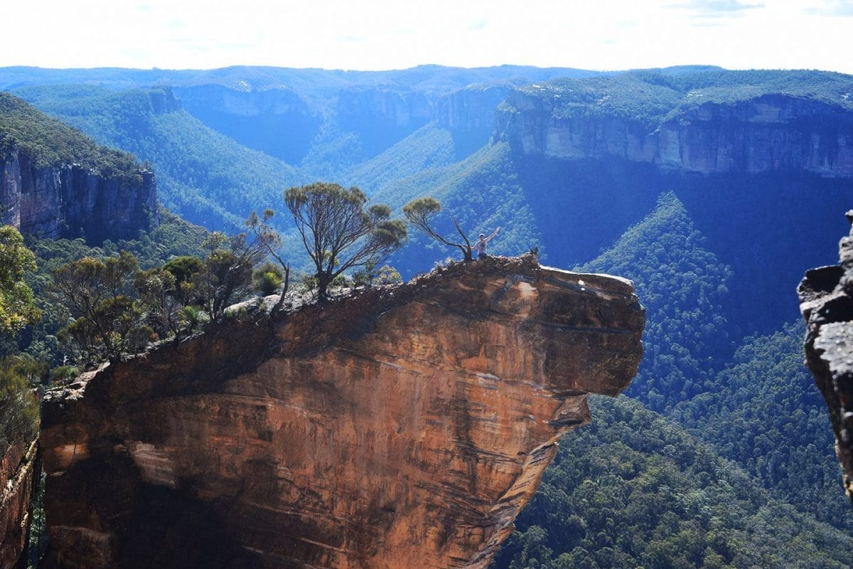 Burramoko Ridge (Hanging Rock) Blue Mountains NSW Australia
