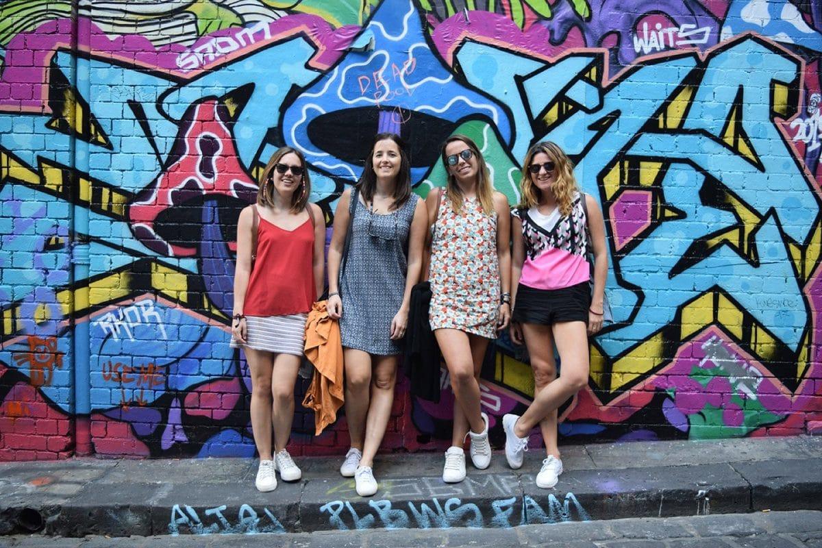 Melbourne Victoria Australia Graffiti