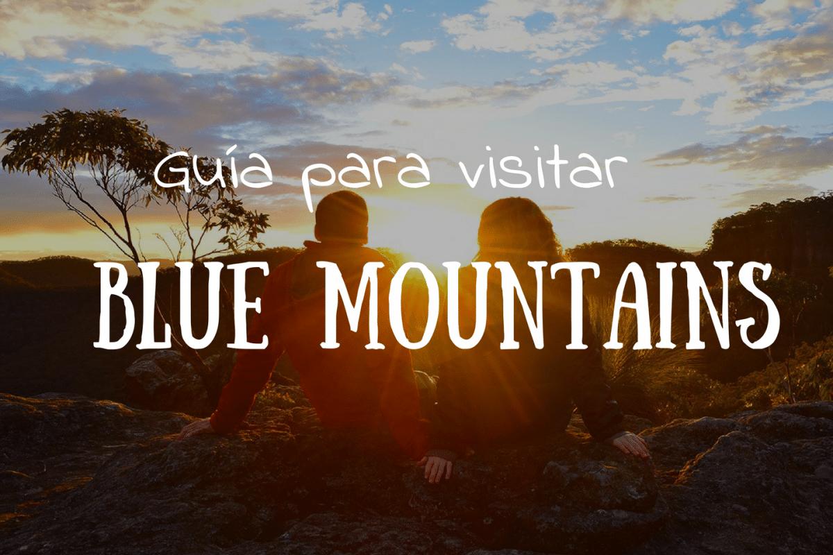 Qué ver y qué hacer en las Blue Mountains Portada