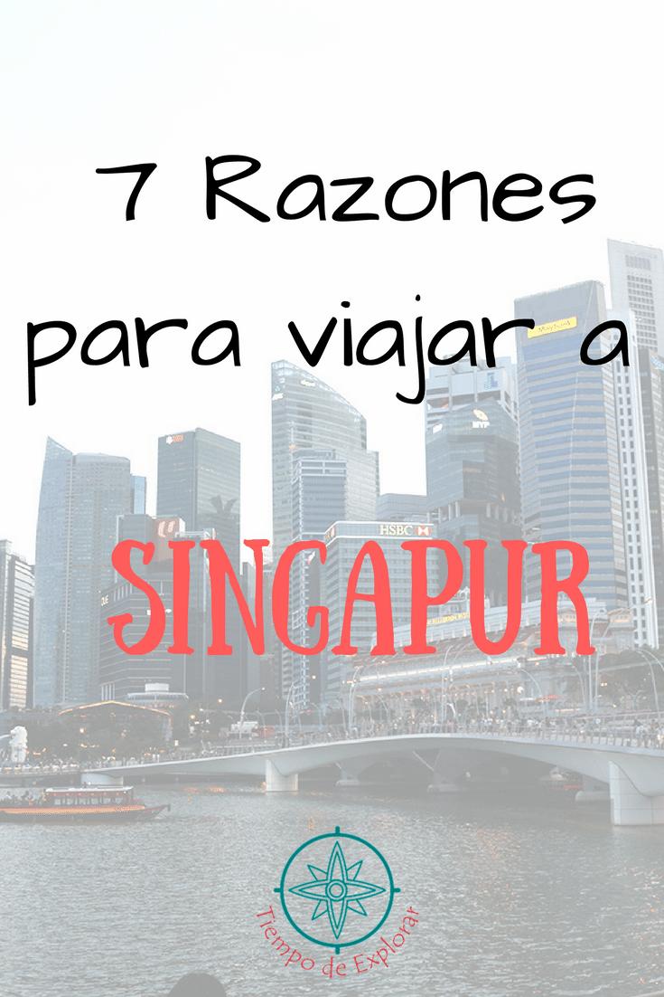 7 Razones para viajar a Singapur Pinterest