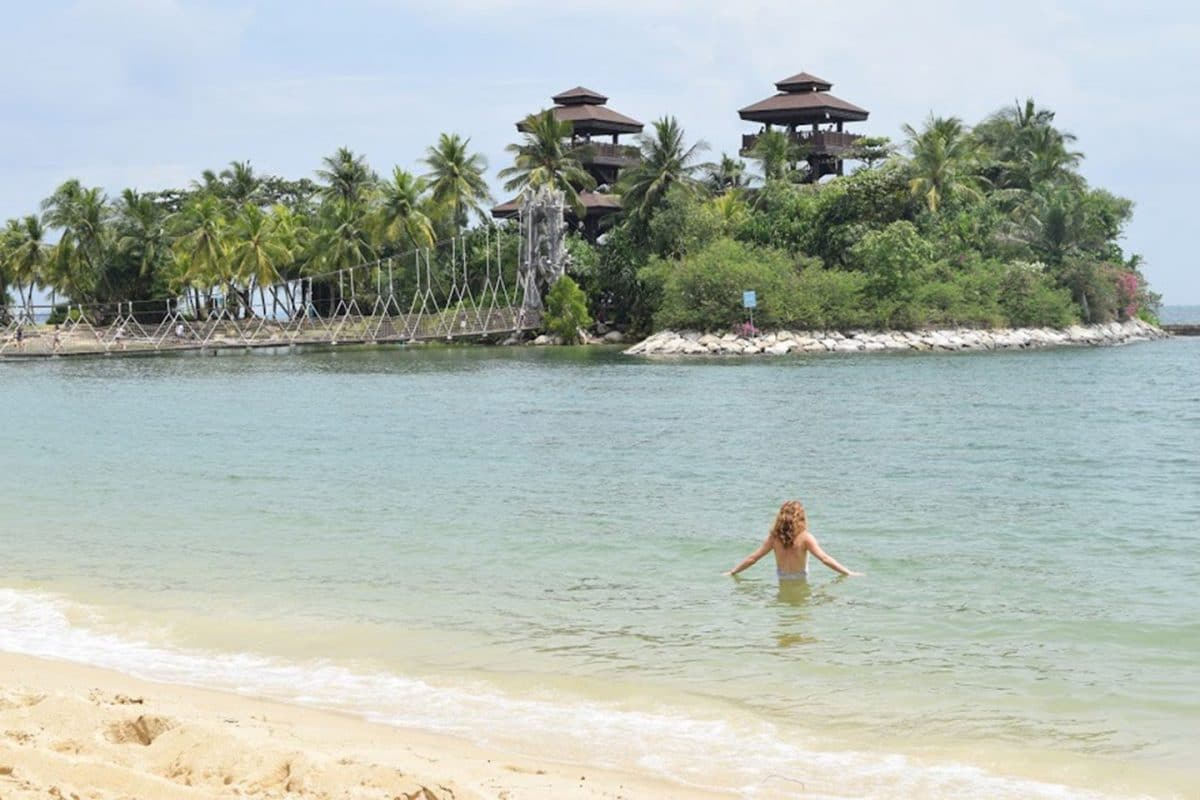 Isla de sentosa. Guía de viajes de Singapur