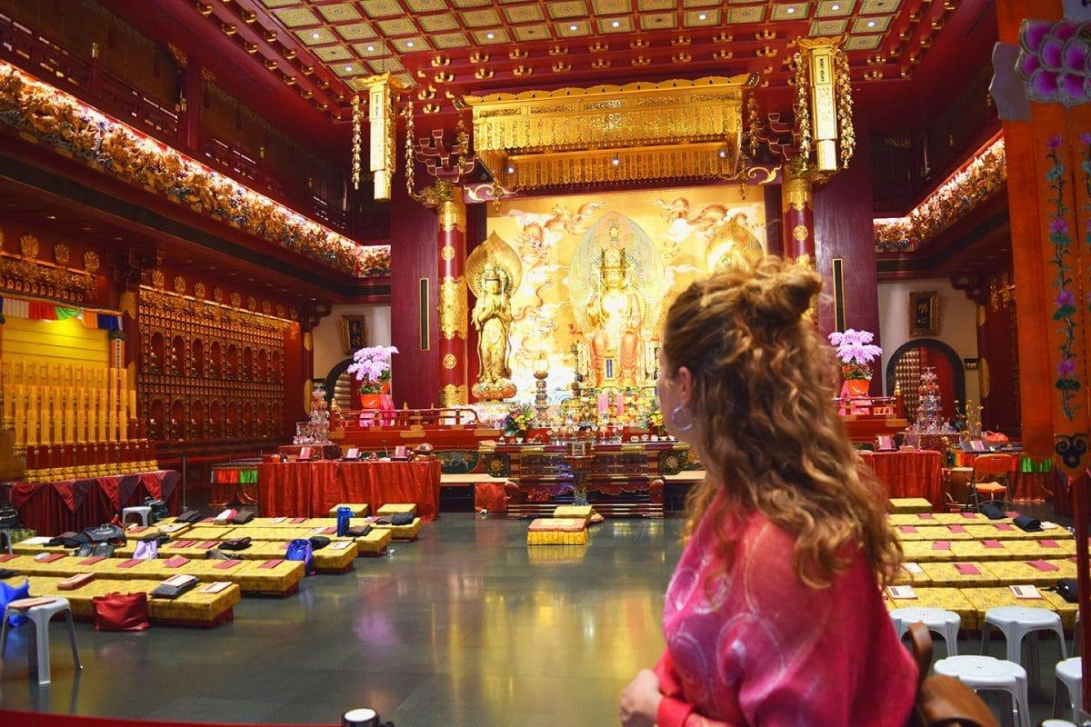 Guía de viajes de Singapur: Templo y museo de la reliquia del diente de Buda