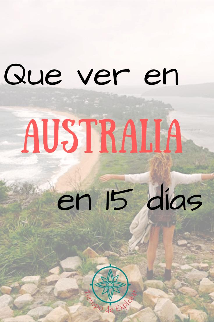 Pinterest. Que ver en Australia en 15 días