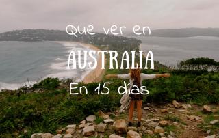 Que ver en Australia en 15 dias