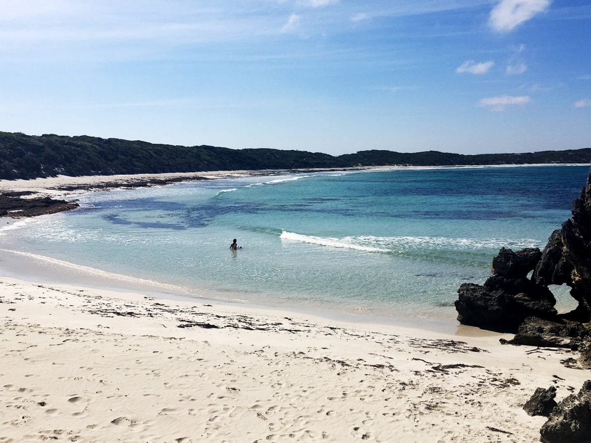 Vivonne Beach Kangaro island Australia
