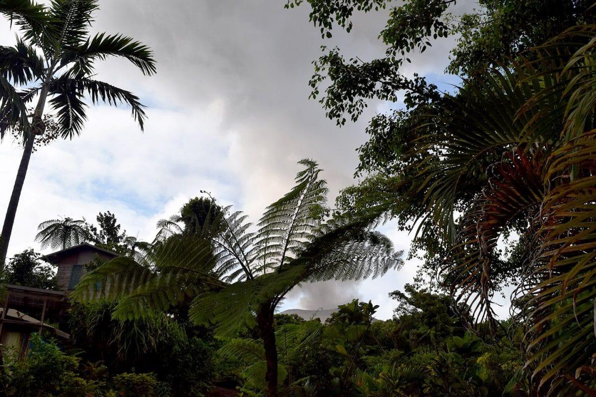 Volcan en activo Vanuatu