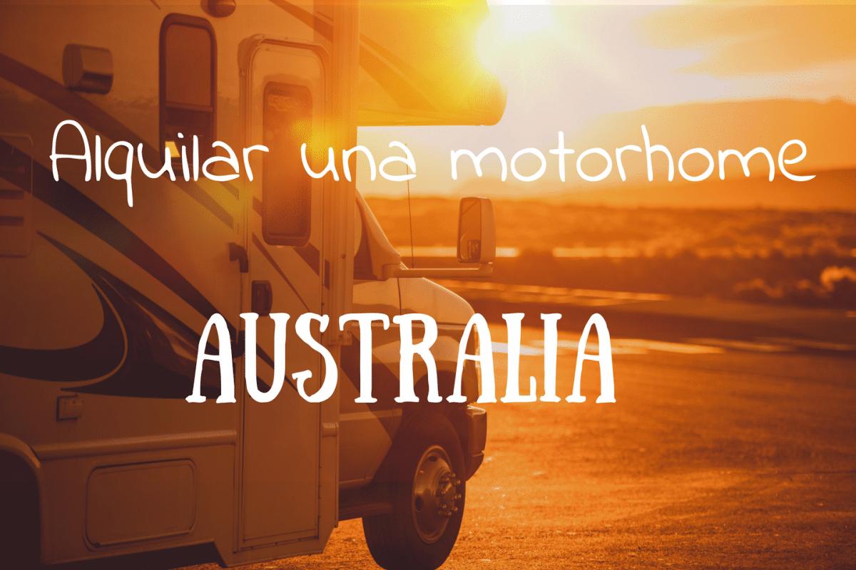 Alquiler de motorhome en Australia