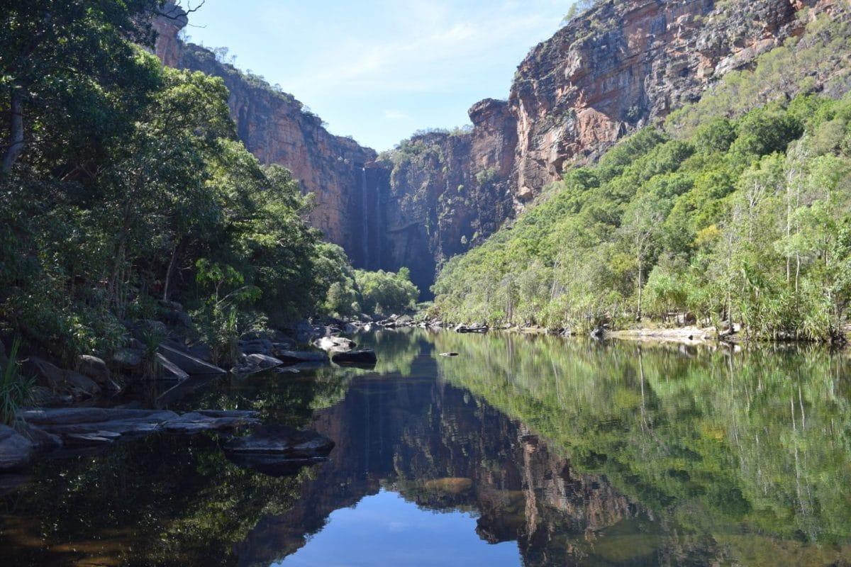 Jim Jim Falls. Kakadu National Park. Australia