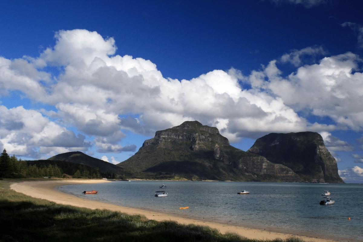 Isla de Lord Howe. Qué hacer en Australia