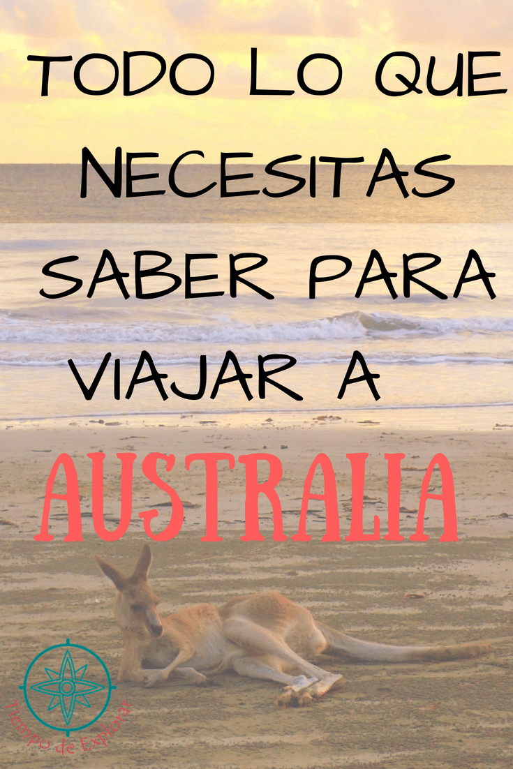 Guía para viajar a Australia. Tiempo de Explorar