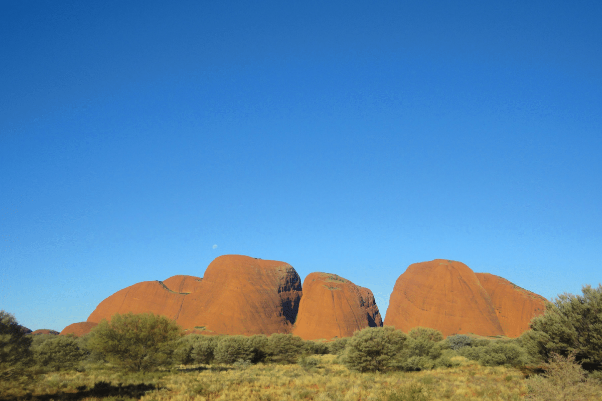 Australia Uluru National Park.
