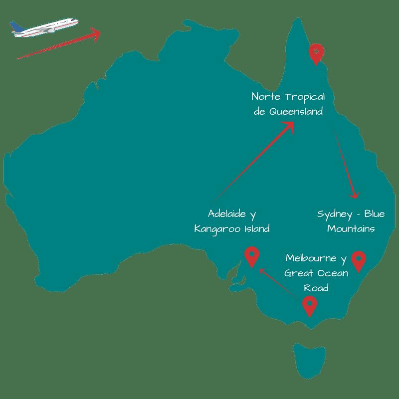 Viajar a Australia 15 días: Itinerario 3