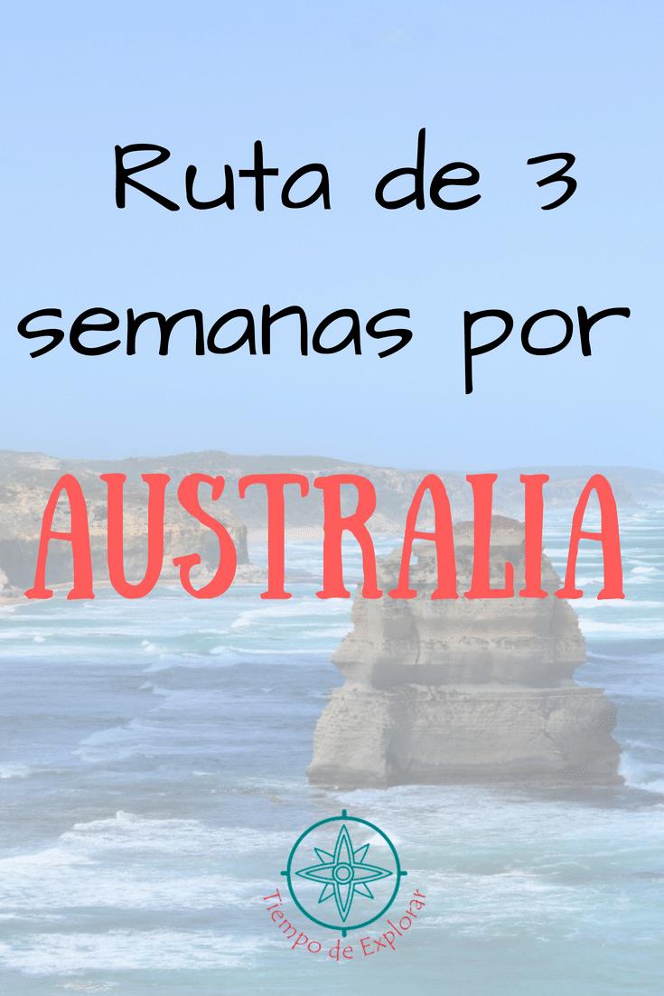 Itinerario 3 semanas Australia