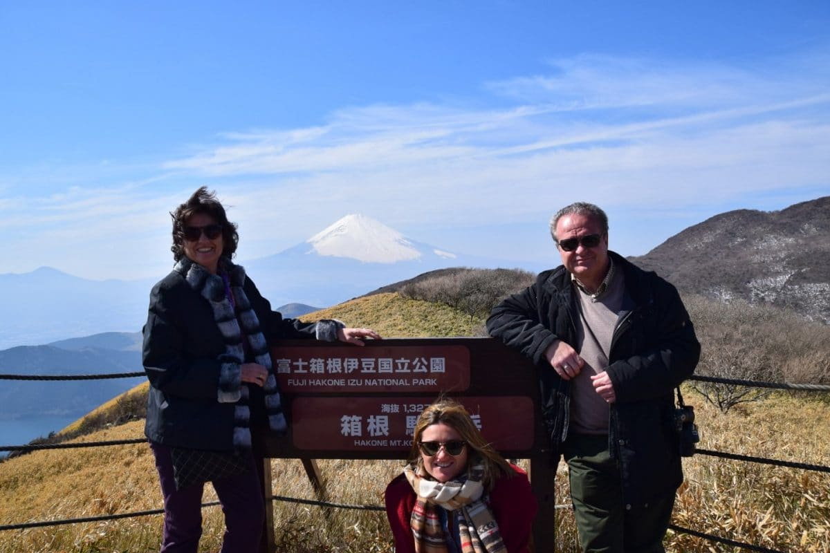 telesferico monte Komagatake para ver monte fuji, japon