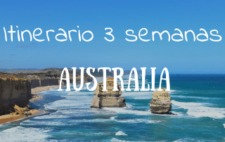 viaje de tres semanas por Australia