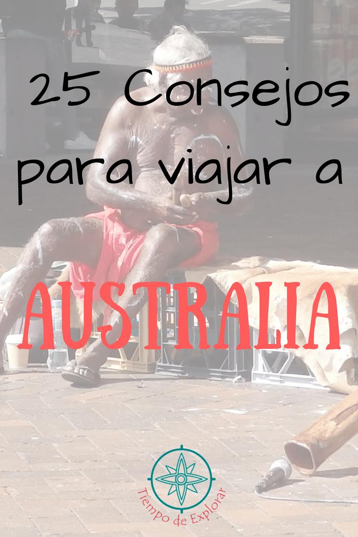 Pinterest. 25 consejos para viajar a australia