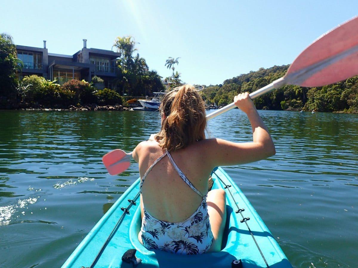 kayaking, cosas que hacer en Noosa