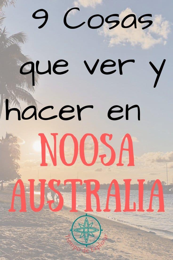 9 cosas que ver y hacer en Noosa Australia Pinterest
