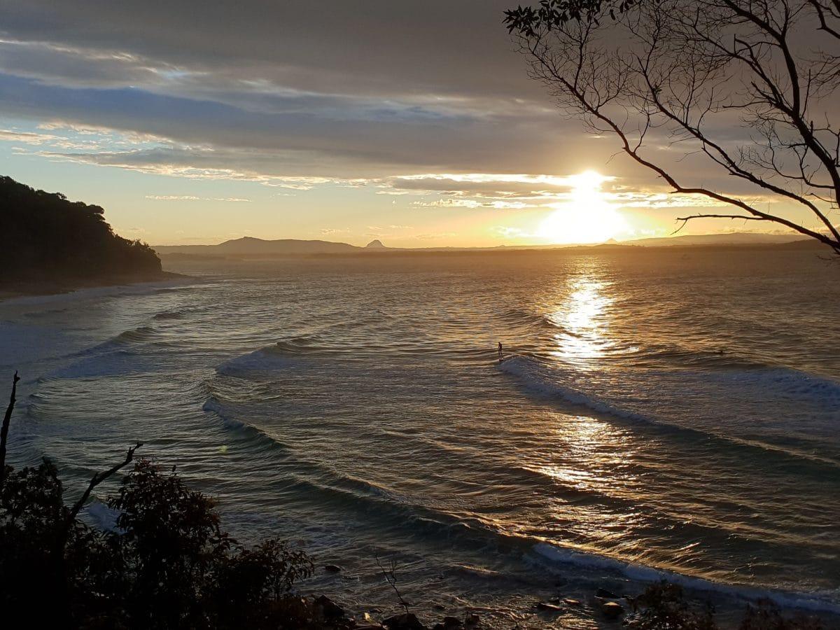 atardecer en noosa national park. Noosa Heads