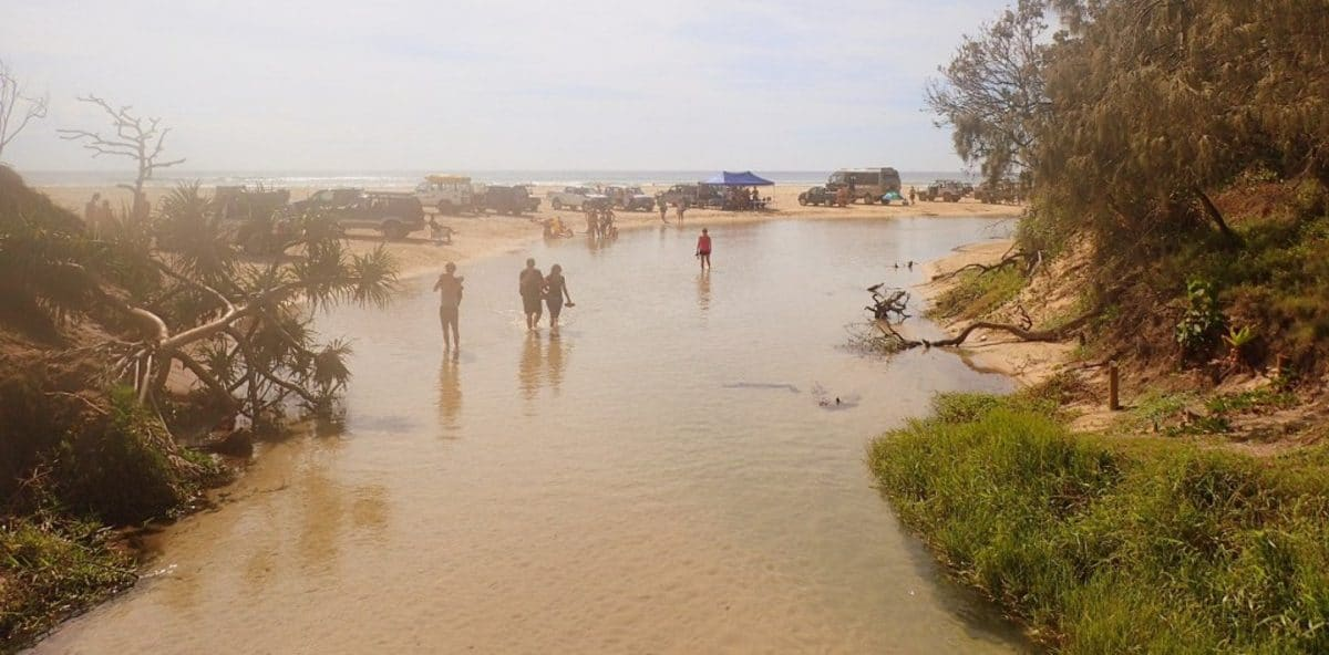 Eli creek Isla de Fraser Australia
