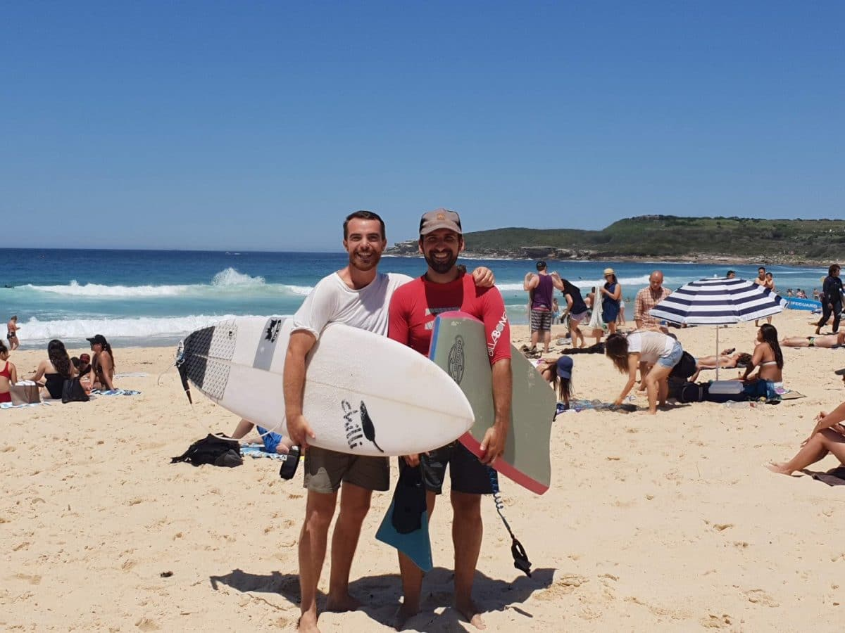 Surf, vivir en Australia