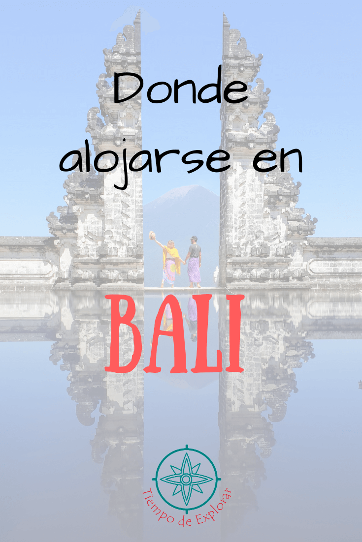 Donde alojarse en Bali printerest